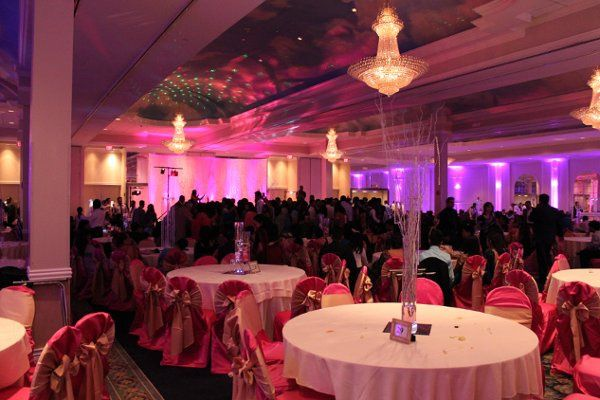 Full Room Ambient Uplighting by Chicago Sound & Lighting