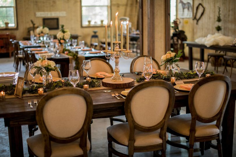 Table Scape/ Louie Chairs