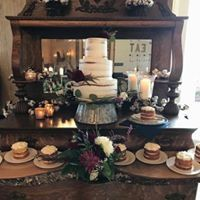 Antique Buffet and Cake