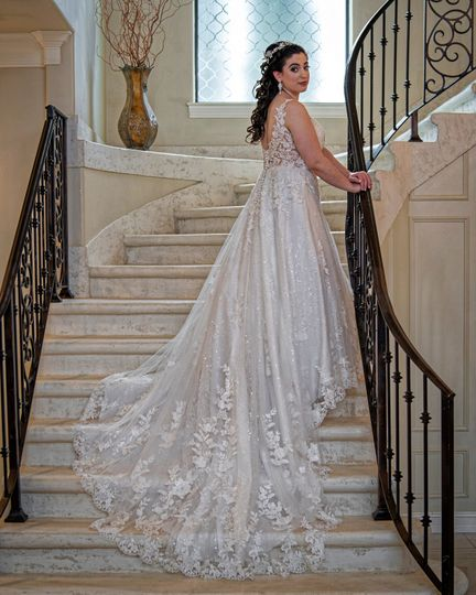 Bridal on the Steps