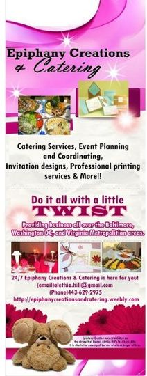 Epiphany Creations and Catering Services