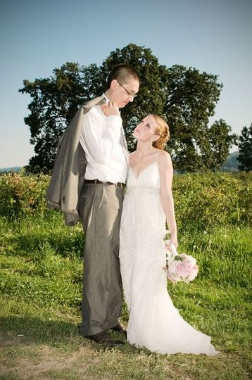 Ben & Junia's wedding at Kruger Farm on Sauvie Island in Portland, OR by LYFE Photography.