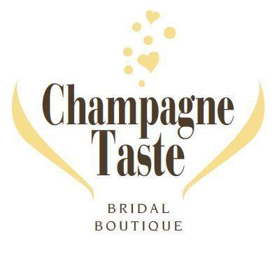 d18955a146ba6b1a Champagne Taste Bridal Logo 1