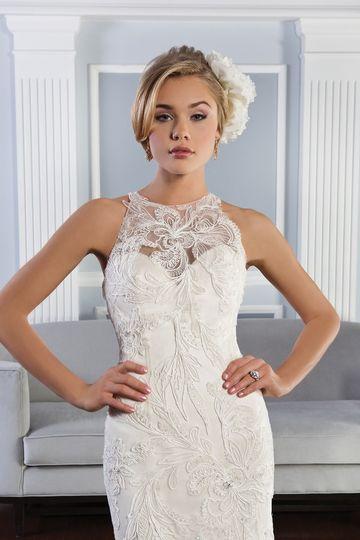 lilian west bridal gown justin alexander