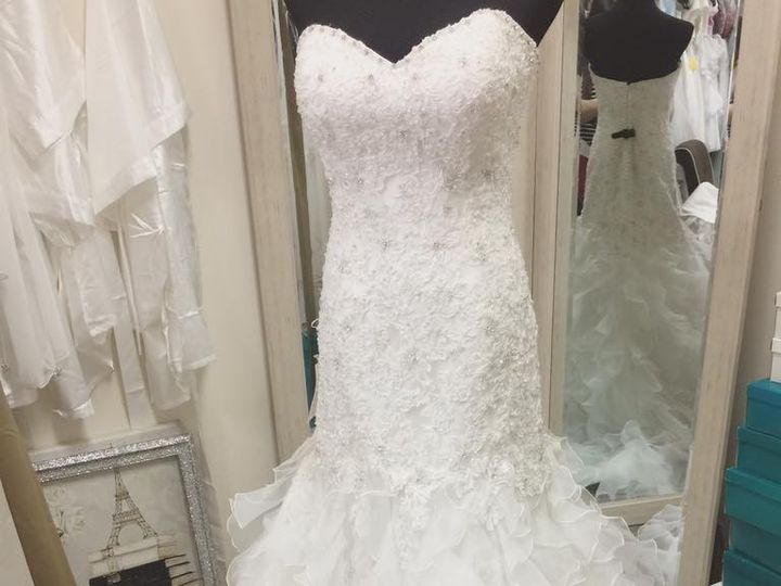 Tmx 1486687168015 Beaded Lace Mermaid Gown Maryland Boutique  North Beach, MD wedding dress