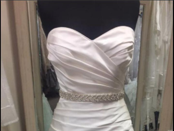Tmx 1486687186174 Maggie Sottero With Belt  North Beach, MD wedding dress