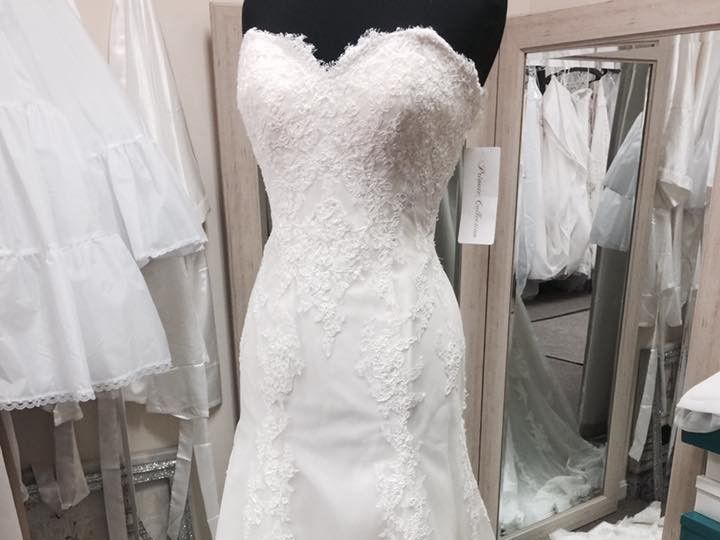 Tmx 1495154541575 Soft Lace Fit And Flare Champagne Taste Bridal North Beach, MD wedding dress