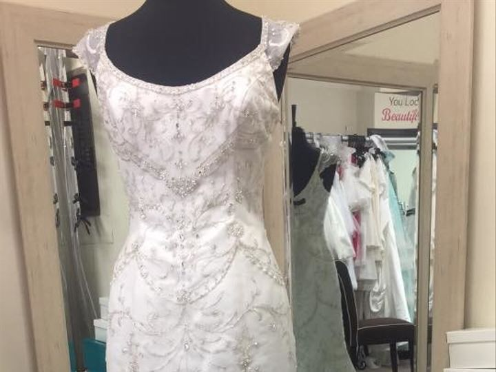 Tmx 1495154600159 Mon Cheri Bridal Maryland Consignment Boutique North Beach, MD wedding dress