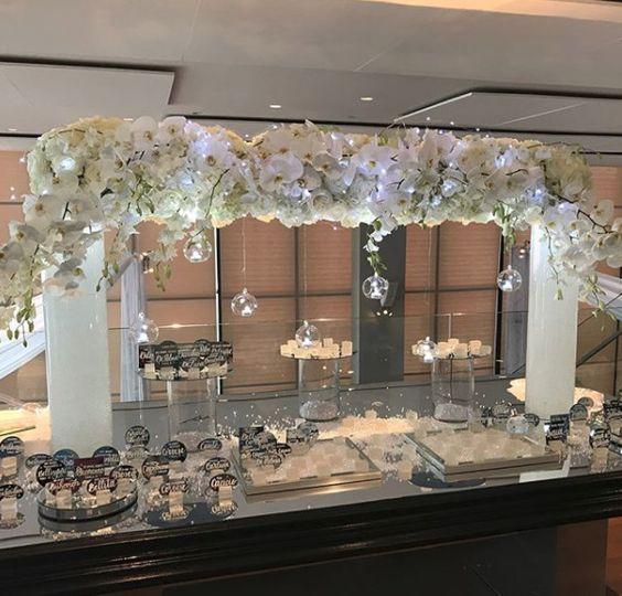 Buffet arch design
