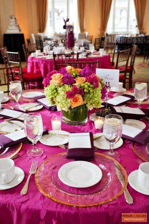 Pink linens