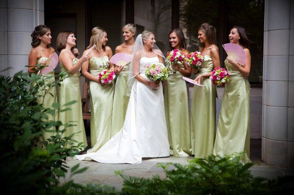 Emily's Beautiful Bridal Party. Thank you Artstar!