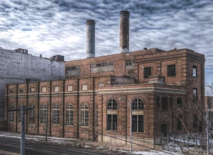 The Old DP&L Steam Plant being renovated for an historical yet modern venue! Photo credit William...