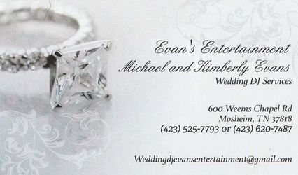 Wedding DJ - Evans Entertainment 1