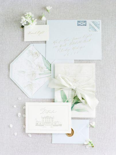 Semi-Custom Wedding Invitation