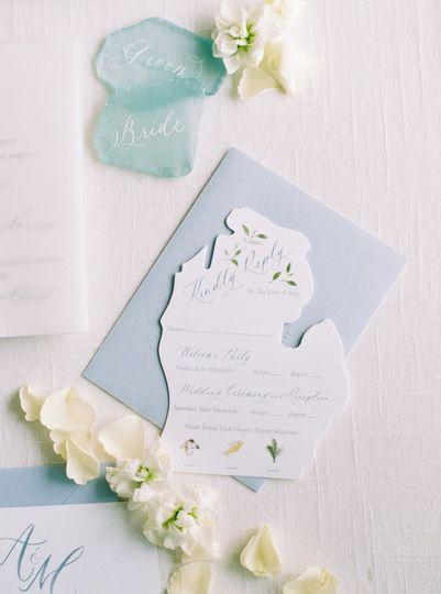 Michigan Wedding Invitations