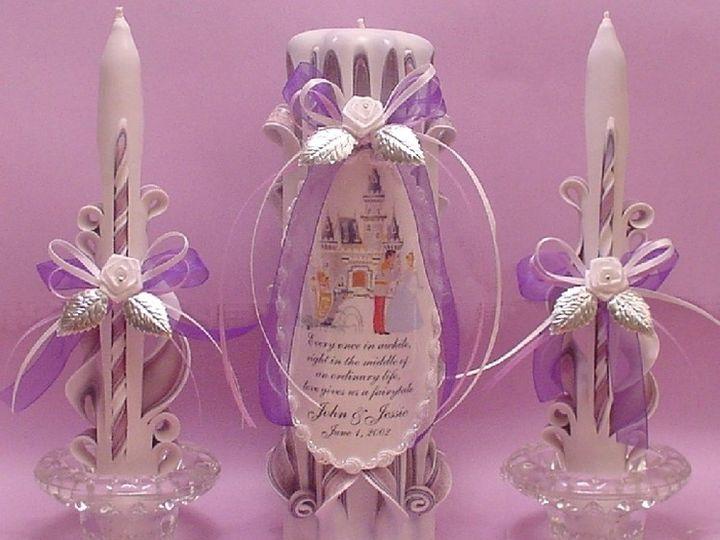 Tmx 1393469595578 Ucs 10 Cinderella Purp Lav Wht 60 Englewood, FL wedding favor