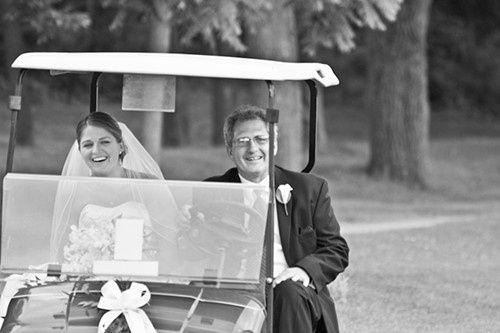 Tmx 1368560901534 Golf Cart Wedding Shot Bloomsburg wedding venue