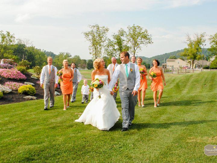 Tmx 1393612806746 Bridal Party Walking By 18th Hol Bloomsburg wedding venue