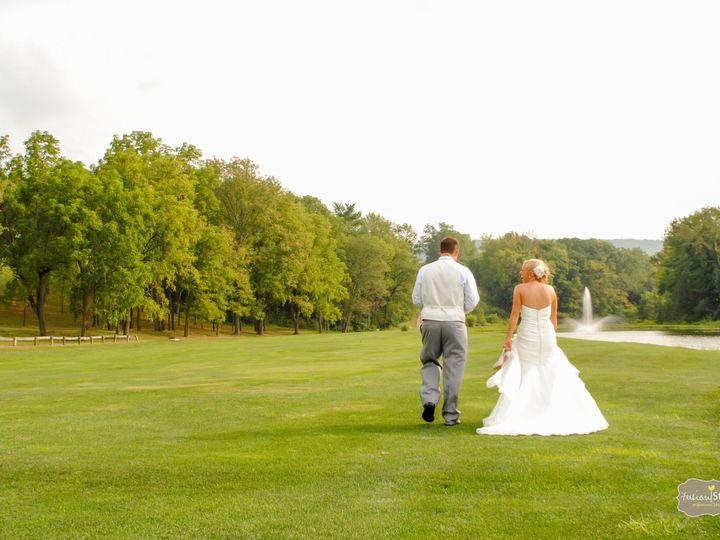 Tmx 1393612828429 Bride And Groom Walking By Pon Bloomsburg wedding venue