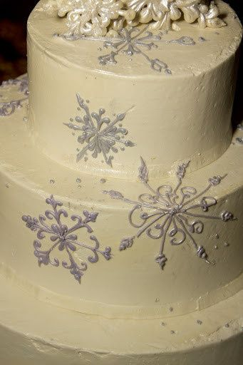 Tmx 1417963117379 Snowflake Cake 2 Richmond, Vermont wedding cake