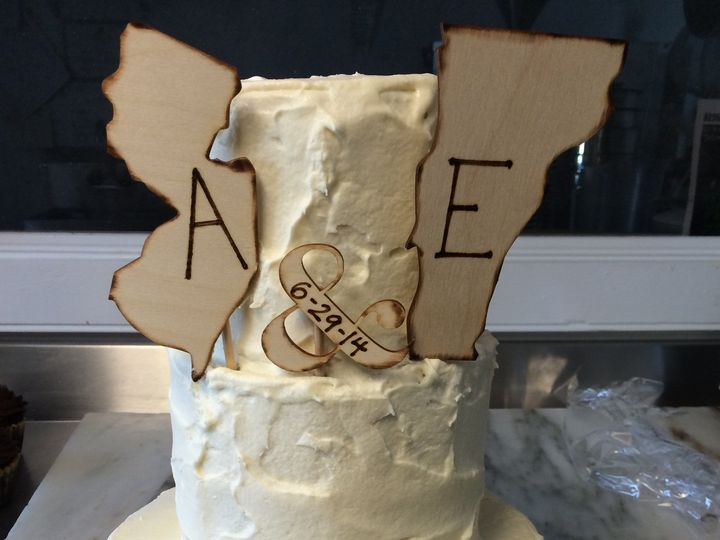 Tmx 1417963572796 Img1385 Richmond, Vermont wedding cake