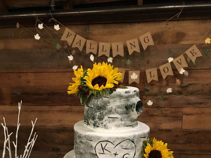 Tmx 1480960455 B4bdfe61c33a4754 IMG 0163 Richmond, Vermont wedding cake