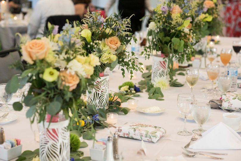 Garden Style King's Table