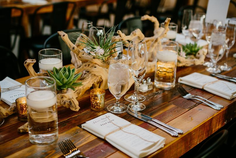 Reception: Ovation Catering: Nico Osteria and Jewell Events Catering  Photography: Pen Carlson...