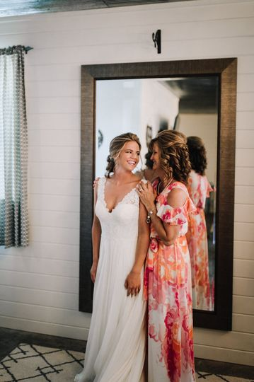 In the dressing room | Billie-Shaye Style Photography, LLC