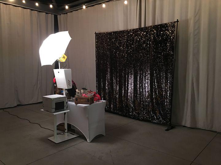 White Open Air Photo Booth! Premium Backdrops.