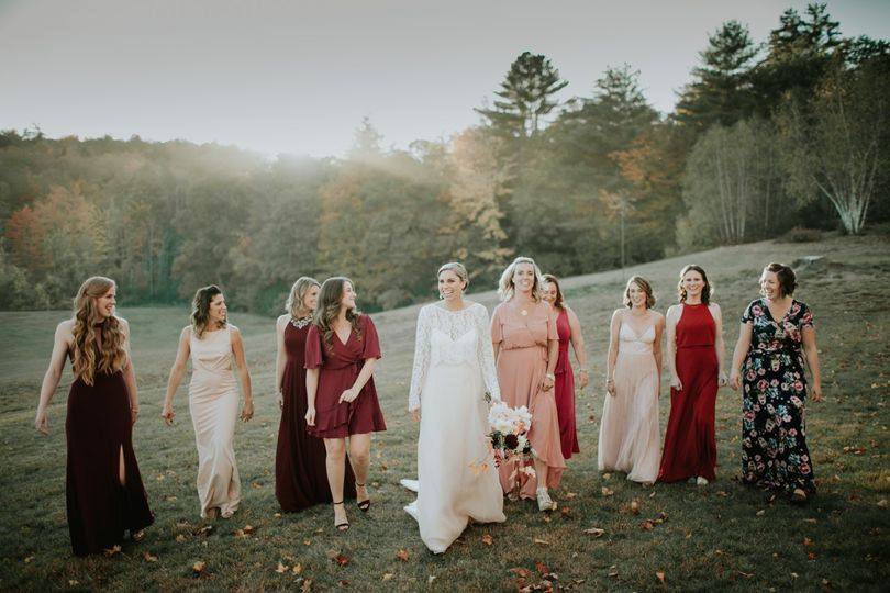 Fall Mountain Wedding in NH