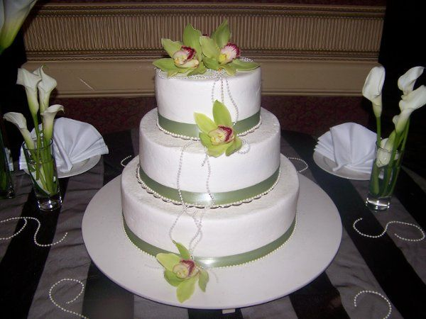 Tmx 1225545986890 Orchid%26Pearls Windham wedding cake