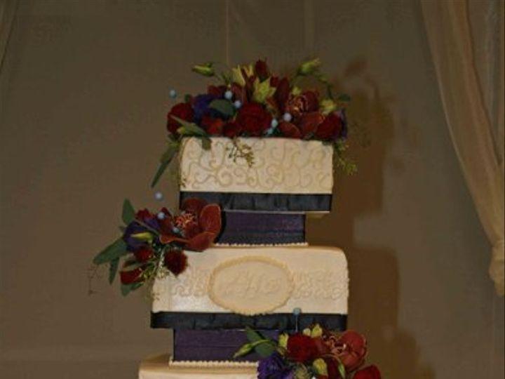 Tmx 1256085868322 HudspethWedding Little Rock wedding cake