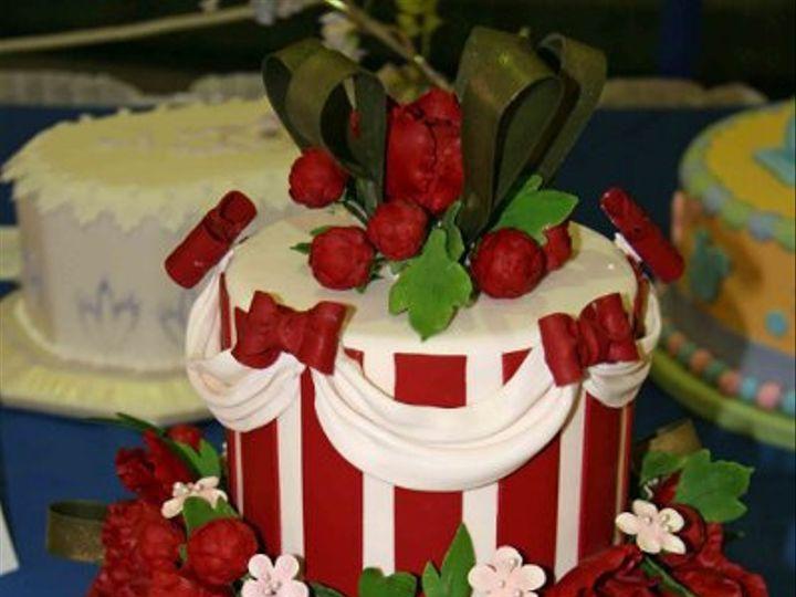 Tmx 1256090424988 ArtisticImpression Little Rock wedding cake