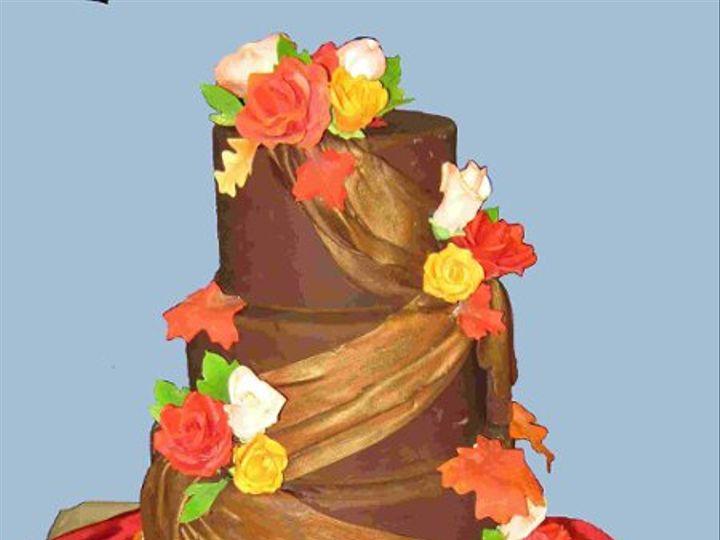 Tmx 1277146249235 FallWeddingCakesmaller Little Rock wedding cake