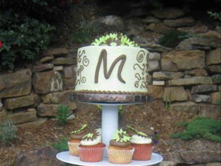 Tmx 1277146283438 MiasWeddingCupcakessmaller Little Rock wedding cake