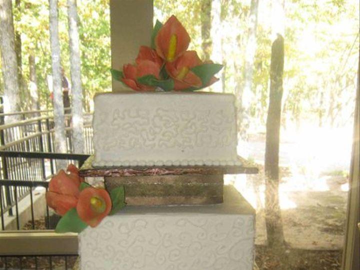 Tmx 1291155365505 Falltulipsandcallaliliessmaller Little Rock wedding cake