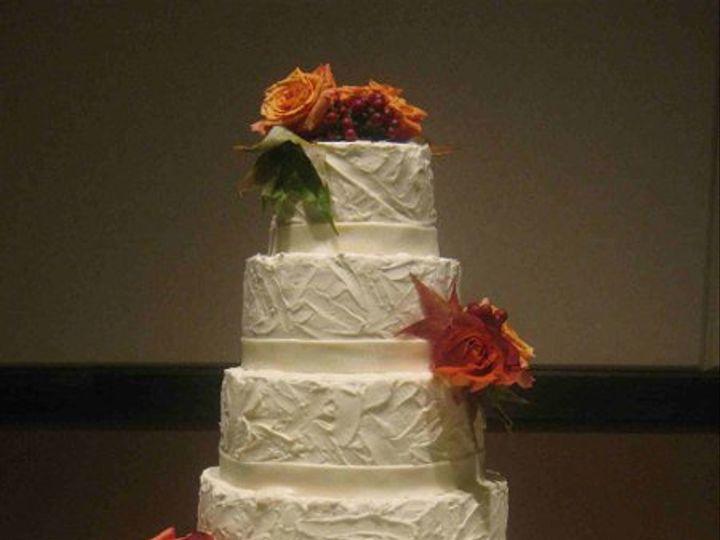 Tmx 1291155646223 BrettsVenetianPlasterWeddingCakesmaller Little Rock wedding cake