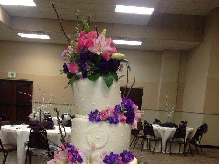 Tmx 1398900906313 Crazy Weddin Little Rock wedding cake