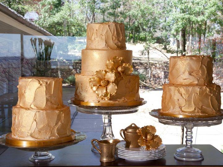 Tmx 1398901045501 Gold Luxe Photoshoo Little Rock wedding cake