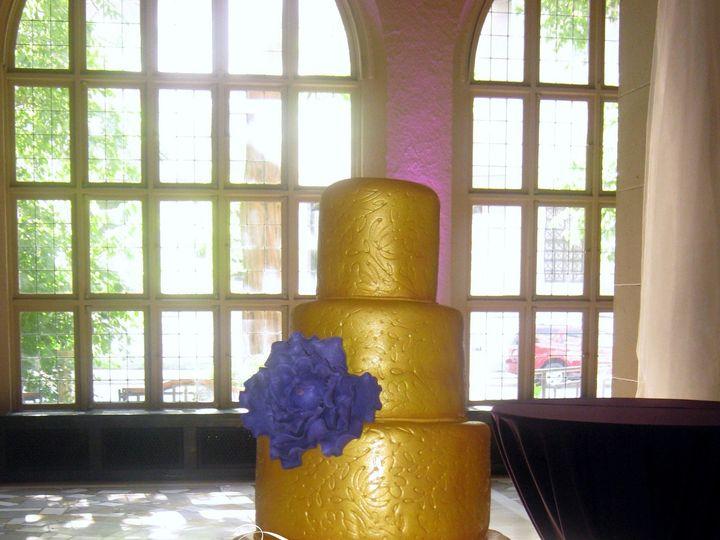 Tmx 1398901062214 Gold Textured Wedding Cake   Watermarke Little Rock wedding cake