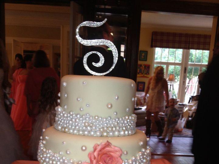Tmx 1398902427920 Peach And Pearl Little Rock wedding cake