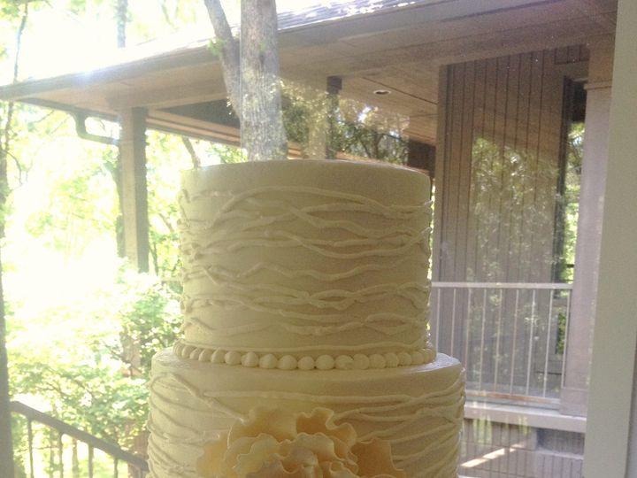 Tmx 1398902462088 Peony And Line Little Rock wedding cake