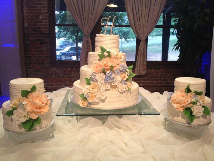 Tmx 1398902557600 Ruffles And Rose Little Rock wedding cake