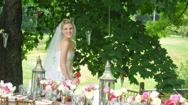 Editorial Bridal Shoot with Jessica's Country Flowers