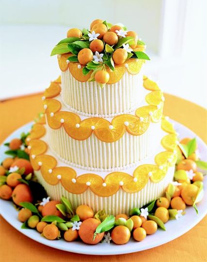 Fresh Orange & Kumquat Cake
