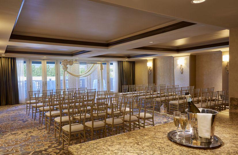 Intimate Wedding Ceremony in Suite 3200