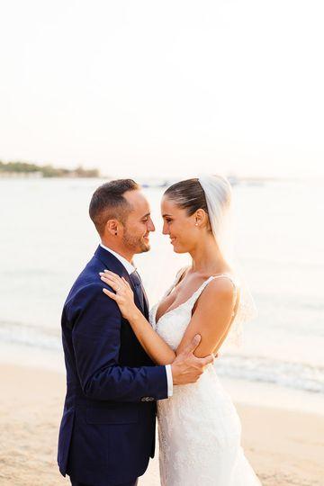 beach wedding greece mykonos