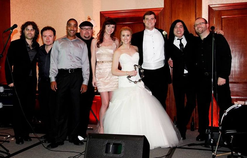 Avalon client with THE SLAGS BAND!