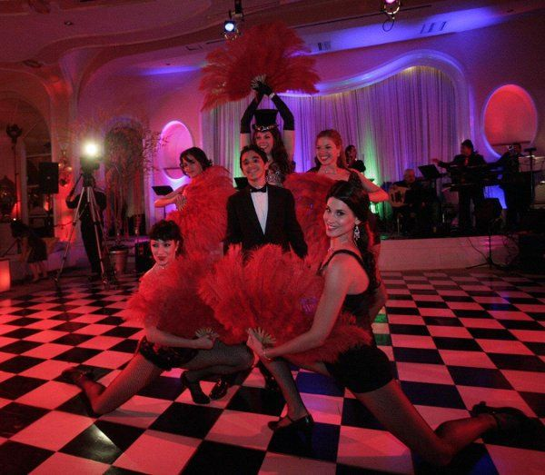 dancers, themed parties, can-can, cancan, dance show
